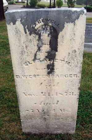 WESTENBARGER, ELIZABETH - Fairfield County, Ohio | ELIZABETH WESTENBARGER - Ohio Gravestone Photos