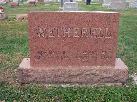 WETHERELL, GEORGE P. - Fairfield County, Ohio | GEORGE P. WETHERELL - Ohio Gravestone Photos