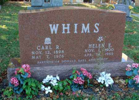 WHIMS, HELEN E. - Fairfield County, Ohio | HELEN E. WHIMS - Ohio Gravestone Photos
