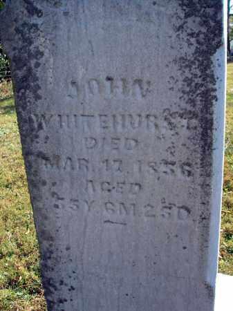 WHITEHURST, JOHN - Fairfield County, Ohio   JOHN WHITEHURST - Ohio Gravestone Photos