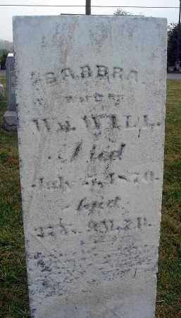 WILL, BARBRA - Fairfield County, Ohio   BARBRA WILL - Ohio Gravestone Photos