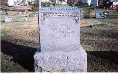 WILLIAMS, J. W. - Fairfield County, Ohio | J. W. WILLIAMS - Ohio Gravestone Photos