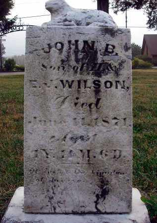 WILSON, JOHN B. - Fairfield County, Ohio | JOHN B. WILSON - Ohio Gravestone Photos
