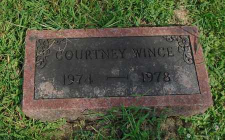 WINCE, COURTNEY - Fairfield County, Ohio | COURTNEY WINCE - Ohio Gravestone Photos