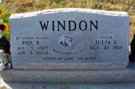 WINDON, PHIL R. - Fairfield County, Ohio | PHIL R. WINDON - Ohio Gravestone Photos