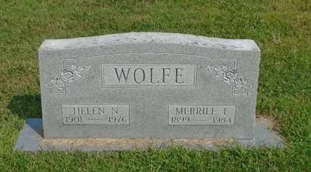 WOLFE, HELEN N. - Fairfield County, Ohio | HELEN N. WOLFE - Ohio Gravestone Photos