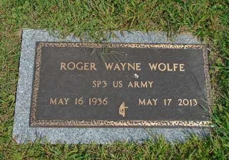 WOLFE, ROGER WAYNE - Fairfield County, Ohio | ROGER WAYNE WOLFE - Ohio Gravestone Photos