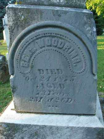 WOODRING, BENJAMIN - Fairfield County, Ohio | BENJAMIN WOODRING - Ohio Gravestone Photos