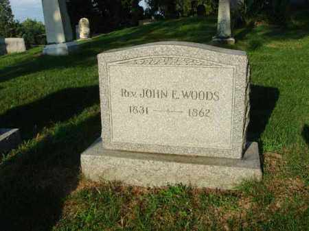 WOODS, JOHN E. - Fairfield County, Ohio | JOHN E. WOODS - Ohio Gravestone Photos