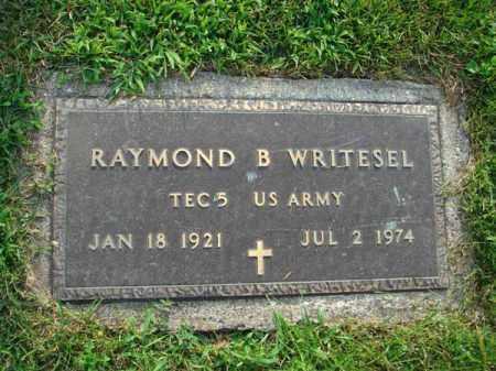 WRITESEL, RAYMOND B. - Fairfield County, Ohio | RAYMOND B. WRITESEL - Ohio Gravestone Photos