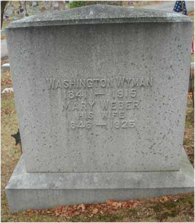 WYMAN, WASHINGTON - Fairfield County, Ohio | WASHINGTON WYMAN - Ohio Gravestone Photos