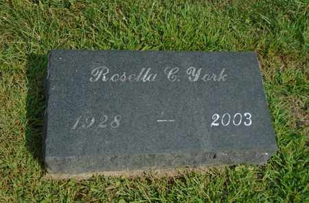 YORK, ROSELLA C. - Fairfield County, Ohio | ROSELLA C. YORK - Ohio Gravestone Photos