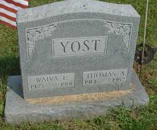 YOST, THOMAS A. - Fairfield County, Ohio | THOMAS A. YOST - Ohio Gravestone Photos