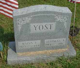 YOST, WAIVA E - Fairfield County, Ohio | WAIVA E YOST - Ohio Gravestone Photos