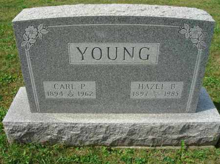 YOUNG, HAZEL B. - Fairfield County, Ohio | HAZEL B. YOUNG - Ohio Gravestone Photos