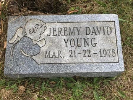 YOUNG, JEREMY DAVID - Fairfield County, Ohio | JEREMY DAVID YOUNG - Ohio Gravestone Photos