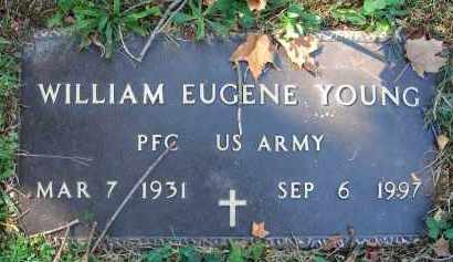 YOUNG, WILLIAM EUGENE - Fairfield County, Ohio | WILLIAM EUGENE YOUNG - Ohio Gravestone Photos