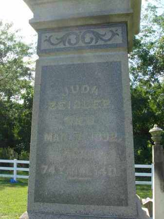 ZEIGLER, JUDA - Fairfield County, Ohio | JUDA ZEIGLER - Ohio Gravestone Photos