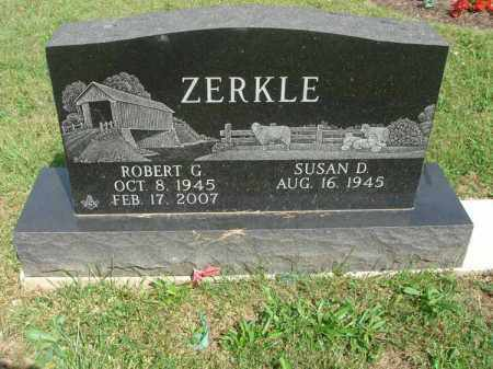 ZERKLE, ROBERT G. - Fairfield County, Ohio | ROBERT G. ZERKLE - Ohio Gravestone Photos