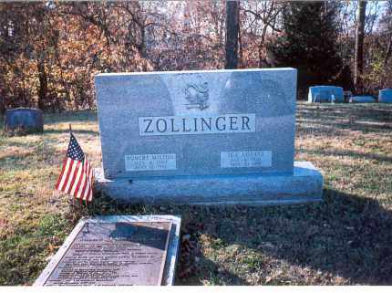 ZOLLINGER, ROBERT - Fairfield County, Ohio | ROBERT ZOLLINGER - Ohio Gravestone Photos