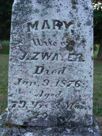 ZWAYER, MARY - Fairfield County, Ohio | MARY ZWAYER - Ohio Gravestone Photos