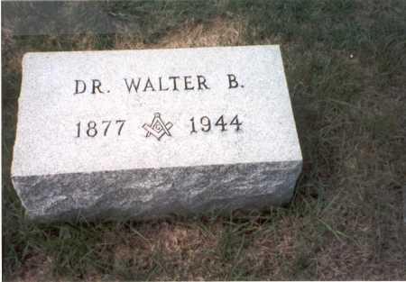TAYLOR, M.D., WALTER B. - Fairfield County, Ohio | WALTER B. TAYLOR, M.D. - Ohio Gravestone Photos
