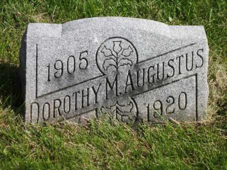 AUGUSTUS, DOROTHY M. - Fayette County, Ohio | DOROTHY M. AUGUSTUS - Ohio Gravestone Photos