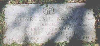 BARNES, CHARLES C - Fayette County, Ohio | CHARLES C BARNES - Ohio Gravestone Photos