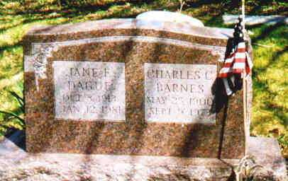 BARNES, JANE F - Fayette County, Ohio | JANE F BARNES - Ohio Gravestone Photos