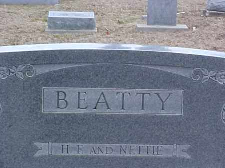 BEATTY, NETTIE - Fayette County, Ohio | NETTIE BEATTY - Ohio Gravestone Photos
