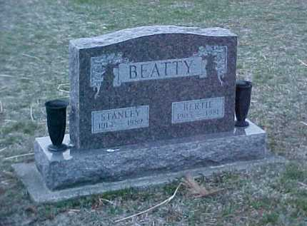 BEATTY, BERTIE - Fayette County, Ohio | BERTIE BEATTY - Ohio Gravestone Photos