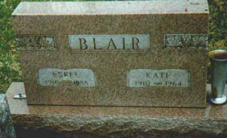 BLAIR, KATE - Fayette County, Ohio | KATE BLAIR - Ohio Gravestone Photos