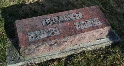 BROWN, MARIETTA - Fayette County, Ohio | MARIETTA BROWN - Ohio Gravestone Photos