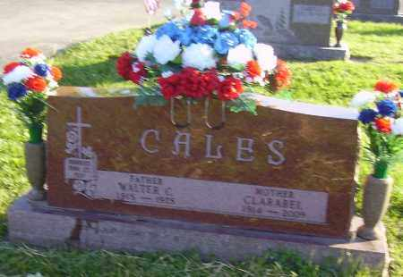 SITES CALES, CLARABEL - Fayette County, Ohio | CLARABEL SITES CALES - Ohio Gravestone Photos