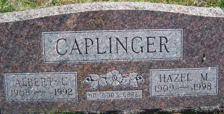 CAPLINGER, ALBERT C. - Fayette County, Ohio | ALBERT C. CAPLINGER - Ohio Gravestone Photos