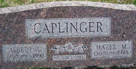 CAPLINGER, HAZEL M. - Fayette County, Ohio | HAZEL M. CAPLINGER - Ohio Gravestone Photos