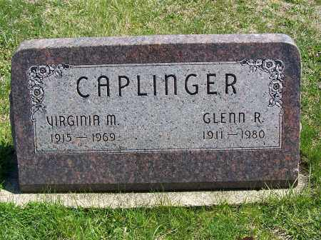 CAPLINGER, VIRGINIA M. - Fayette County, Ohio | VIRGINIA M. CAPLINGER - Ohio Gravestone Photos