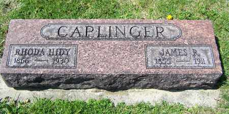 CAPLINGER, JAMES R. - Fayette County, Ohio | JAMES R. CAPLINGER - Ohio Gravestone Photos