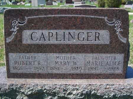 CAPLINGER, ROBERT R. - Fayette County, Ohio | ROBERT R. CAPLINGER - Ohio Gravestone Photos