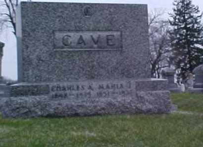 CAVE, MARTHA J. - Fayette County, Ohio | MARTHA J. CAVE - Ohio Gravestone Photos