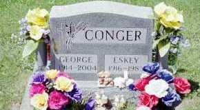HINES CONGER, ESKEY M - Fayette County, Ohio | ESKEY M HINES CONGER - Ohio Gravestone Photos
