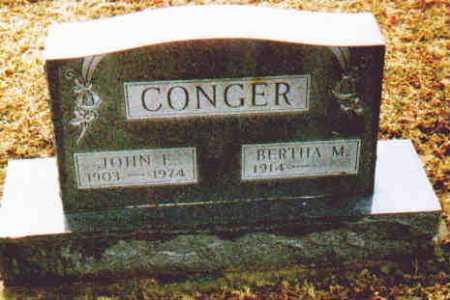 CONGER, JOHN L - Fayette County, Ohio | JOHN L CONGER - Ohio Gravestone Photos