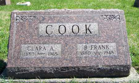 COOK, CLARA A. - Fayette County, Ohio | CLARA A. COOK - Ohio Gravestone Photos