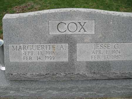 SHARP COX, MARGUERITE A - Fayette County, Ohio | MARGUERITE A SHARP COX - Ohio Gravestone Photos