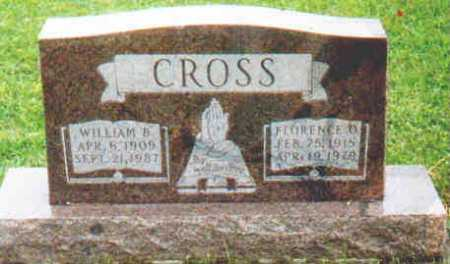 CROSS, WILLIAM B - Fayette County, Ohio | WILLIAM B CROSS - Ohio Gravestone Photos