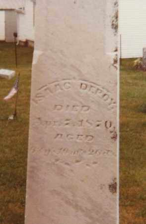 DEPOY, ISAAC - Fayette County, Ohio | ISAAC DEPOY - Ohio Gravestone Photos