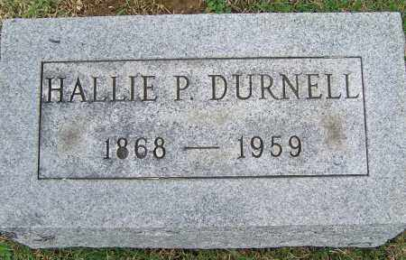 DURNELL, HALLIE P. - Fayette County, Ohio | HALLIE P. DURNELL - Ohio Gravestone Photos