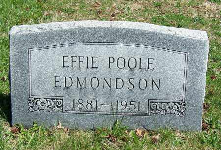 EDMONDSON, EFFIE - Fayette County, Ohio | EFFIE EDMONDSON - Ohio Gravestone Photos