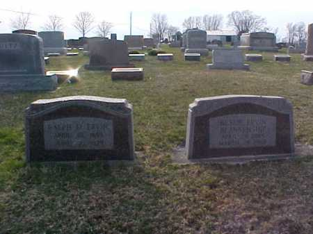 ERVIN, RALPH E - Fayette County, Ohio | RALPH E ERVIN - Ohio Gravestone Photos