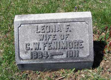 RICHARDSON FENIMORE, LEONA F - Fayette County, Ohio | LEONA F RICHARDSON FENIMORE - Ohio Gravestone Photos